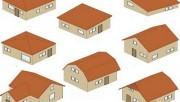 Форма скатов крыши